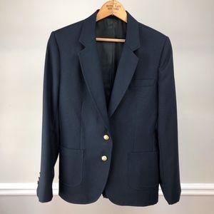 Vintage Preppy Navy Blazer